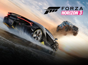 Froza Horizon 3 game front cover photo