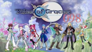 Tales of Graces anime cartoons front cover