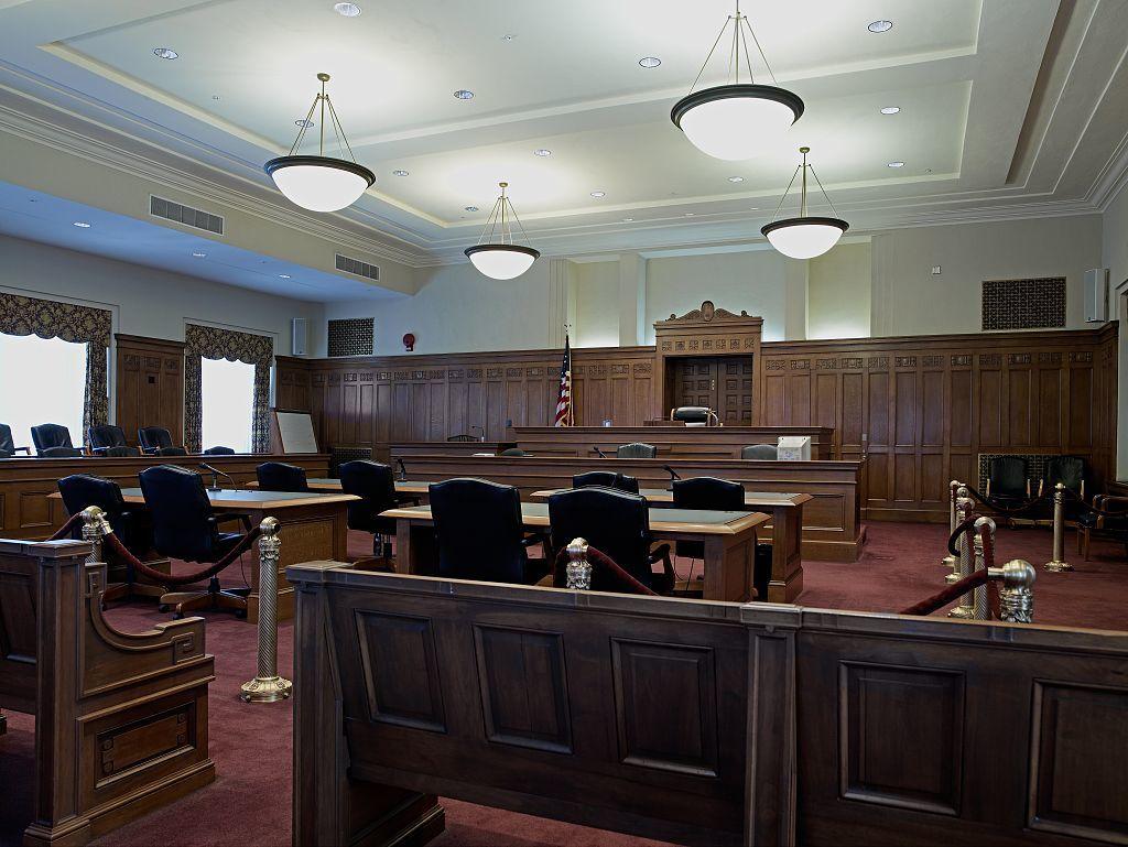 Empty Court Room