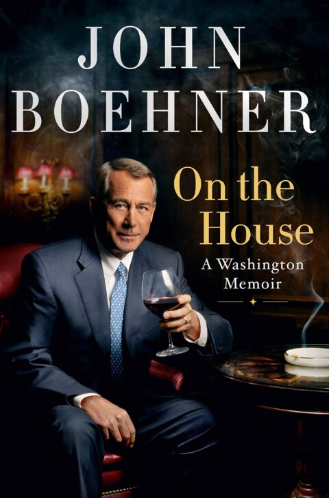 Cover Of John Boehner's Memoir Book