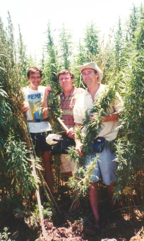 Conrad, Boucher, Martin, hemp field