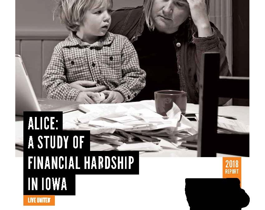 United Way ALICE report–More Muscatine households need assistance, report says