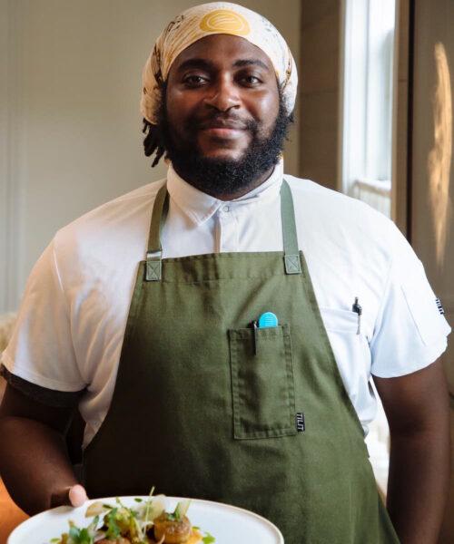 Community Table, Chef Christian Hunter