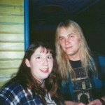 """Me and Eric Brittingham (both sporting the """"ever popular"""" flannel shirt, right Charlene? hehe)"""