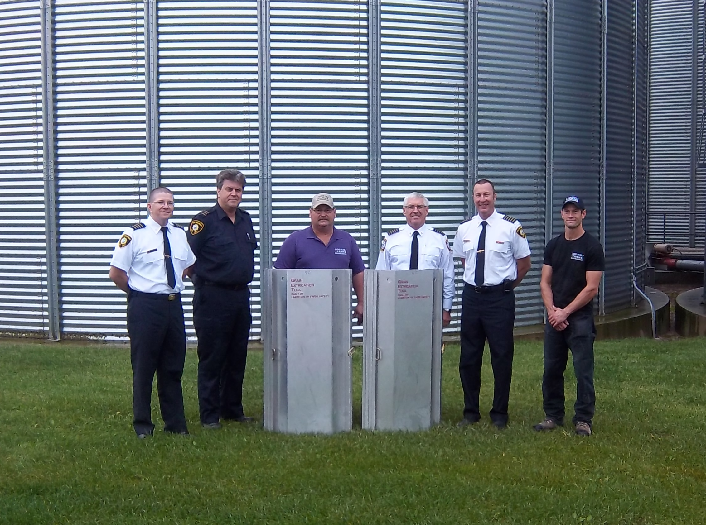 Lockie Farms was able to donate Grain Safety Extraction tools to fire departments in the area. Departments included East Gwillimbury, Uxbridge Twsp, Georgina Twsp, City of Kawartha Lakes, & Sunderland.