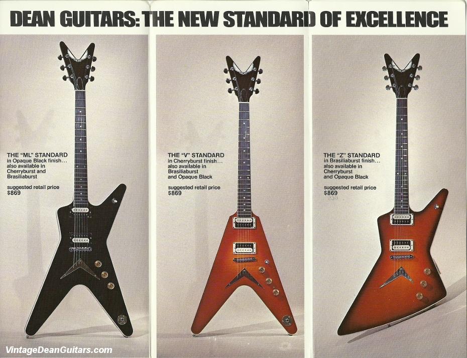 dean guitars ad