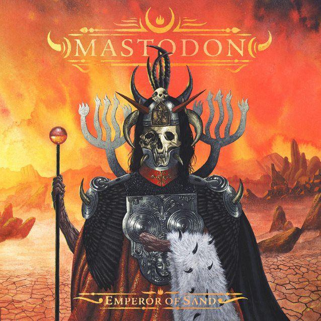 Mastodon Emperor of Sand Cover