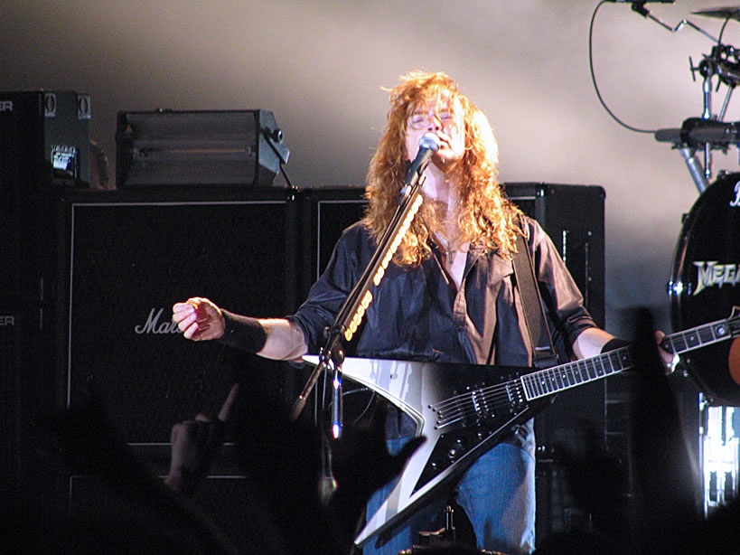 """Dave Mustaine on tour to support """"The System Has Failed"""""""
