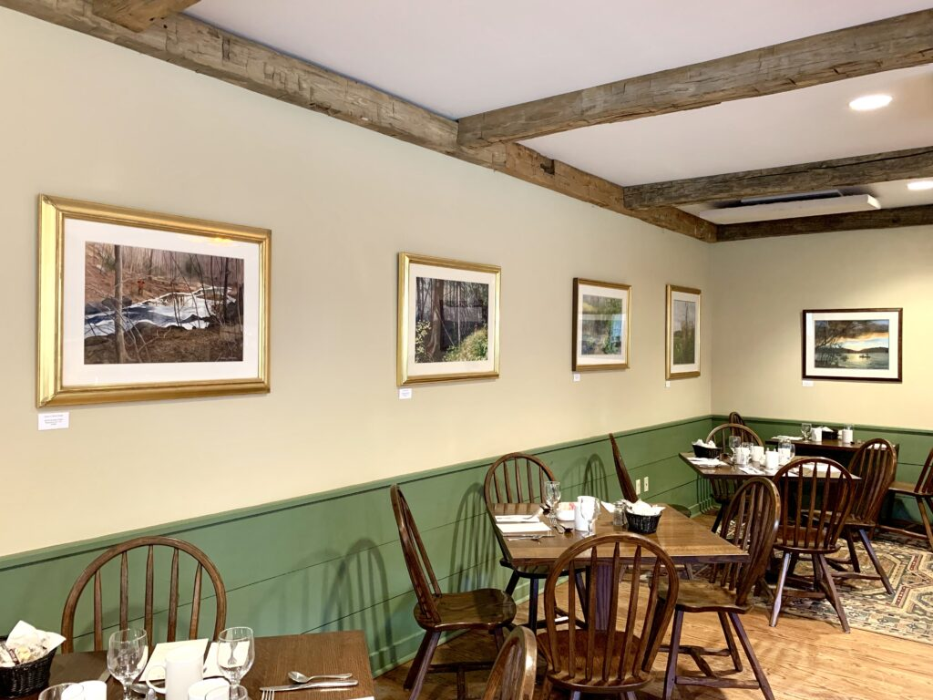 Dining Room at Orvis Sandanona Shooting Grounds Millbrook New York State Featuring Top Sporting Artists