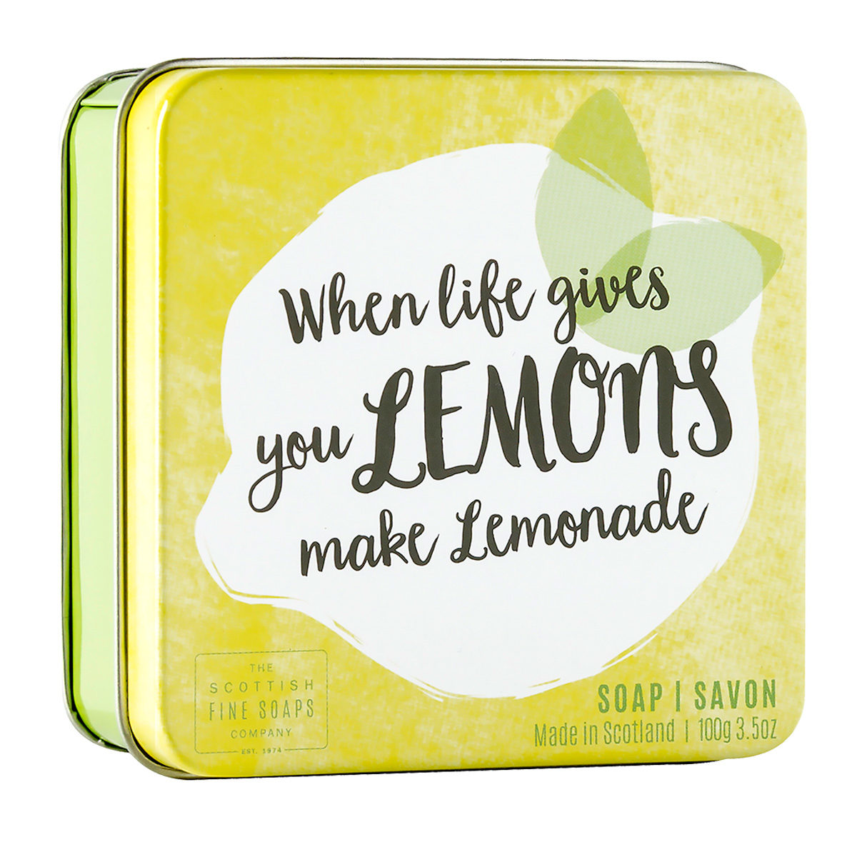 When Life Gives You Lemons Soap In A Tin – Fruits Collection