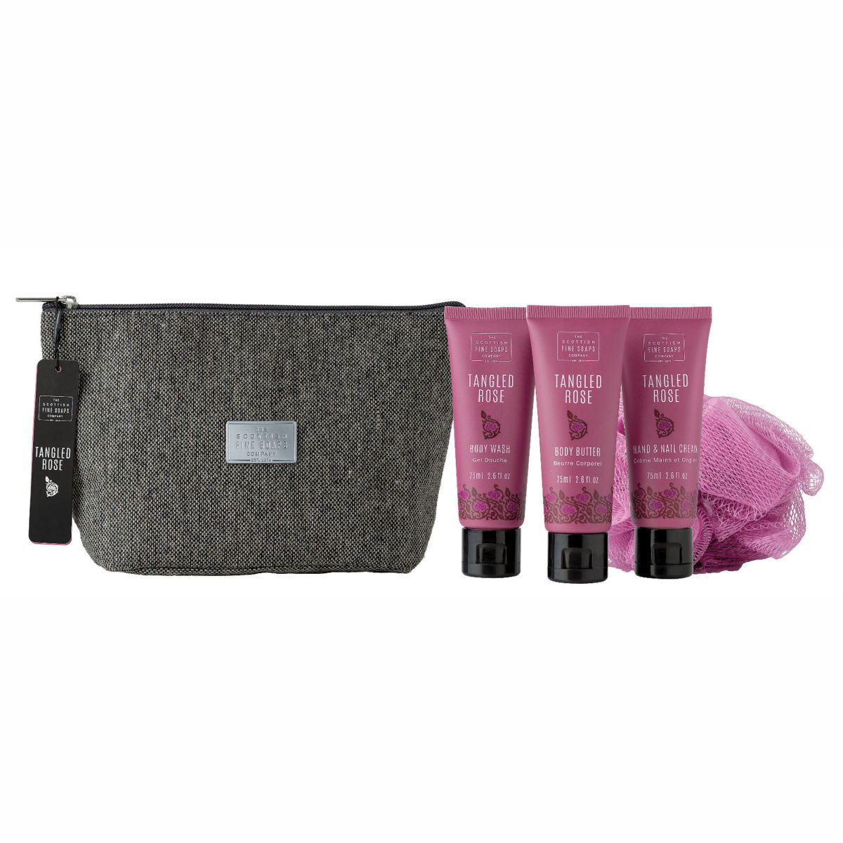 Tangled Rose Toiletry Bag Gift Set