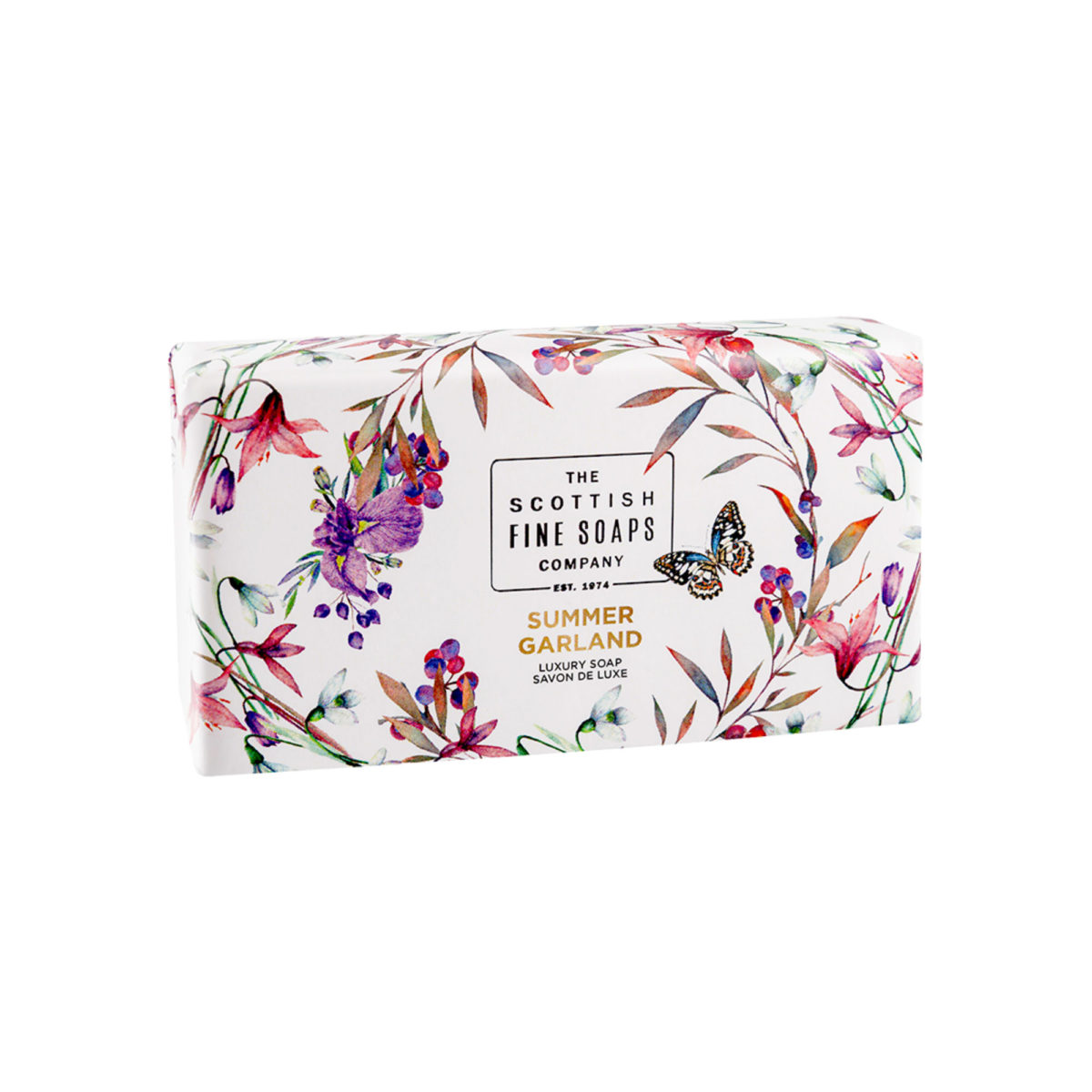 Summer Garland Luxury Wrapped Soap – Nature Collection