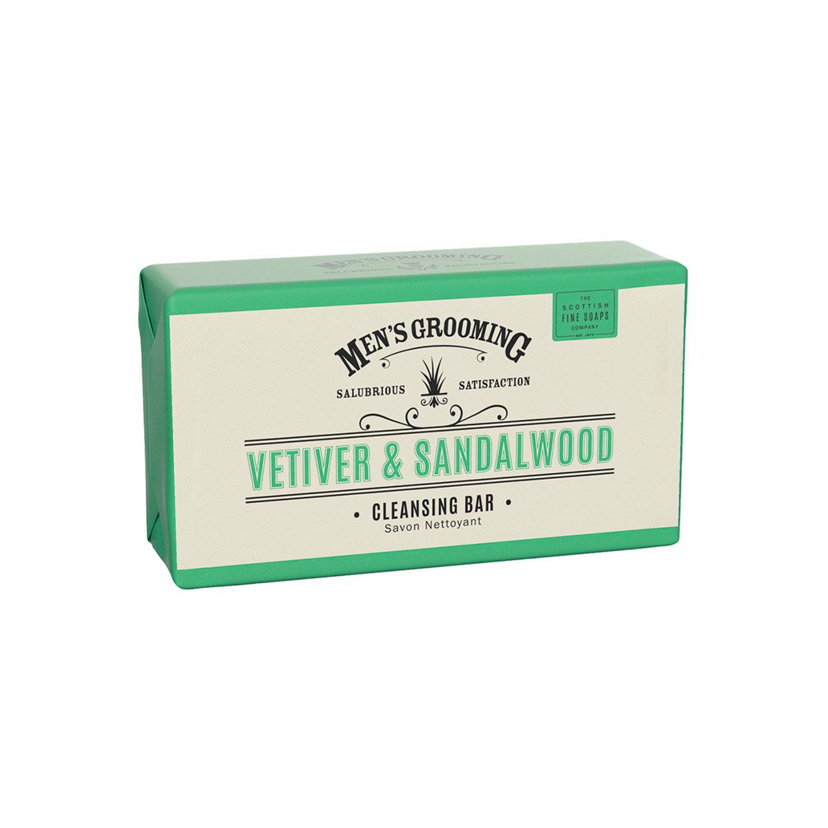 Vetiver & Sandalwood Cleansing Body Bar