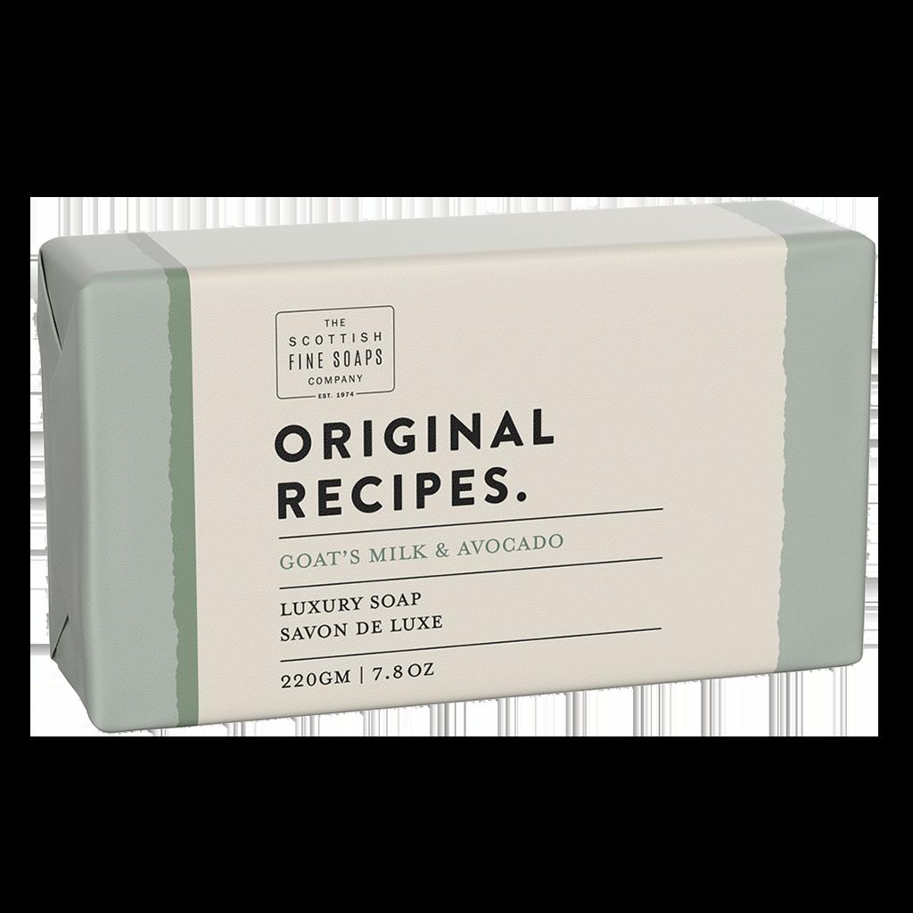 Goat's Milk & Avocado Luxury Soap