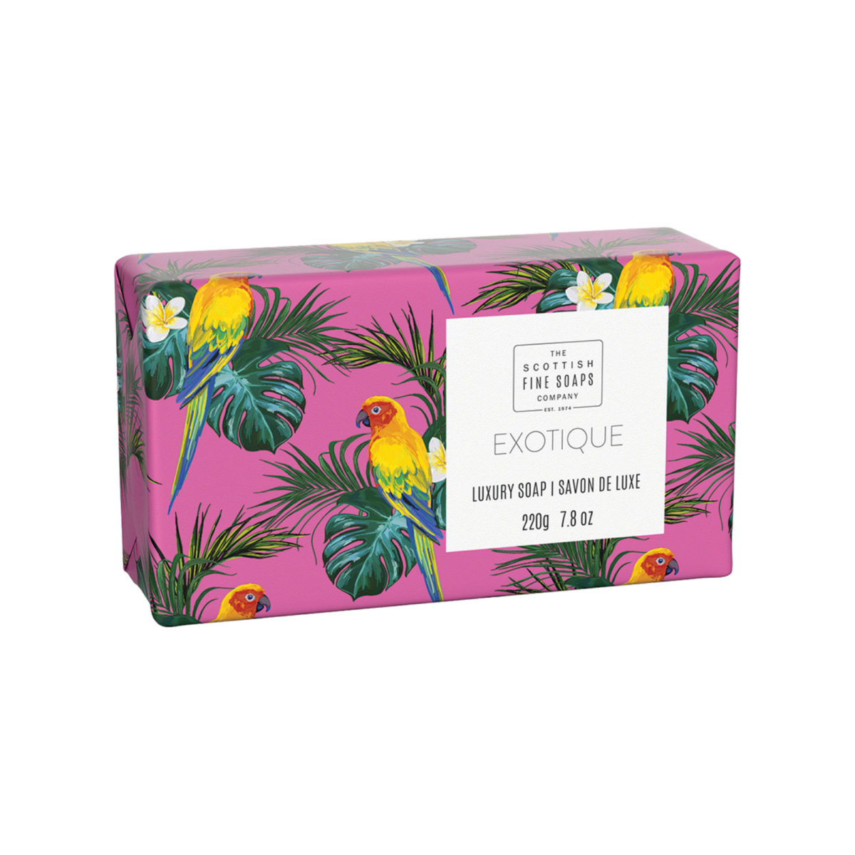 Exotique Luxury Wrapped Soap – Tropical Collection