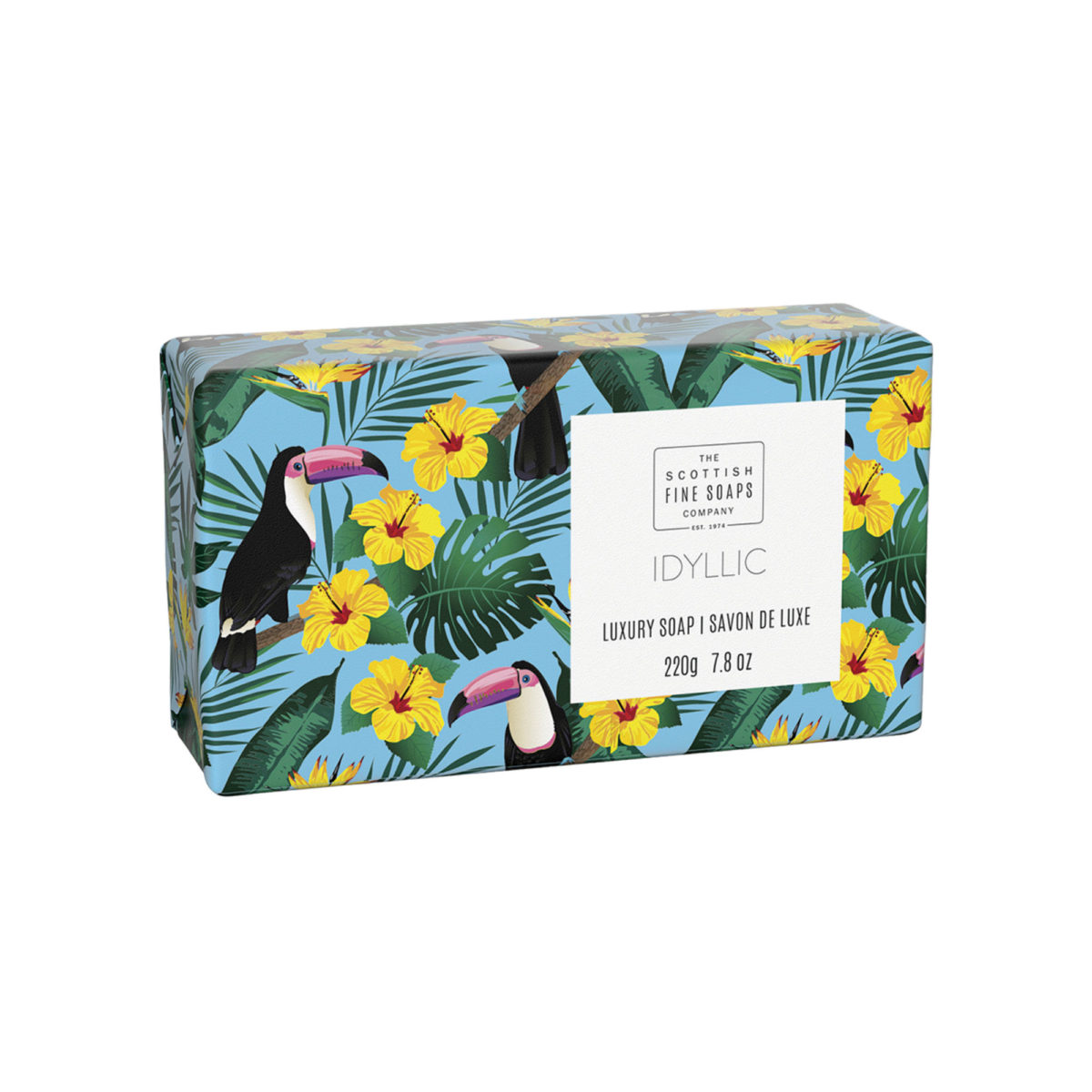 Idyllic Luxury Wrapped Soap – Tropical Collection