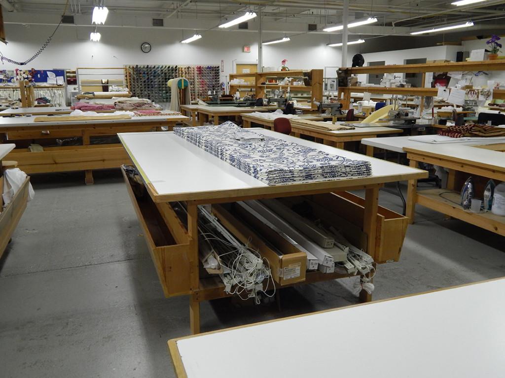 custom drapery workroom