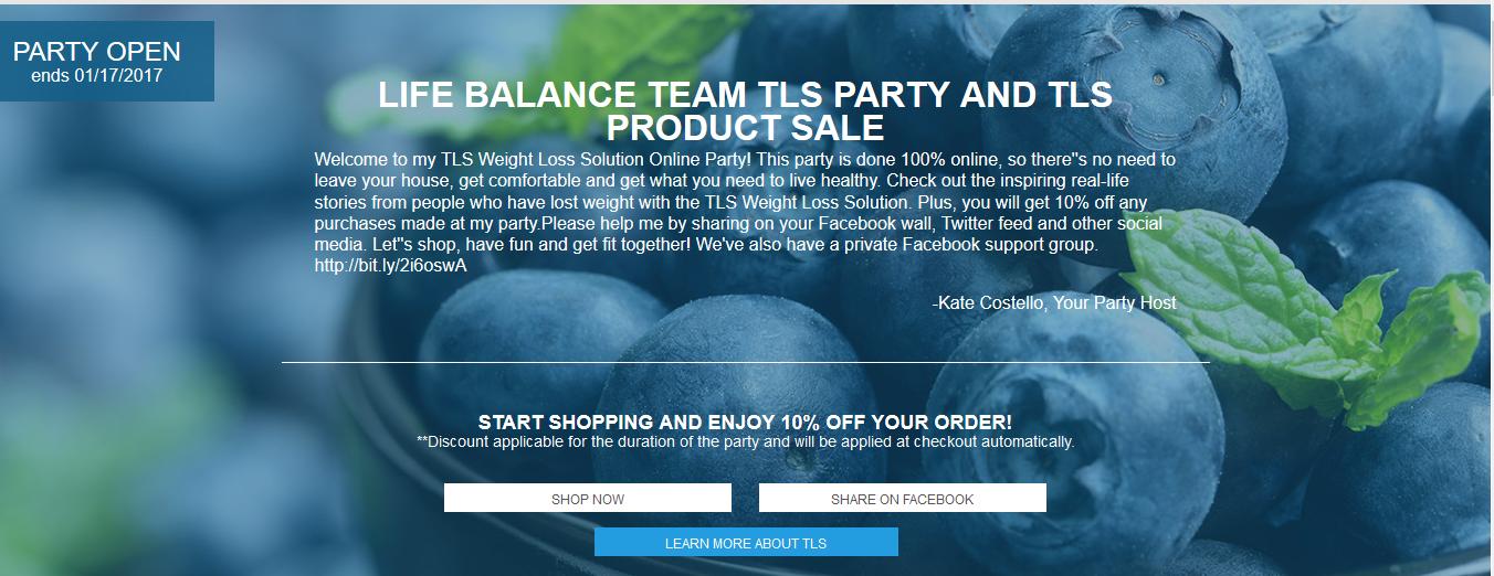 TLS party-thelifebalanceteam.com