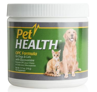PetHealth™ OPC Formula with Glucosamine for Dogs & Cats