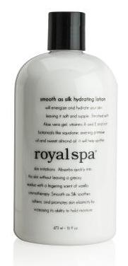 Royal Spa® Smooth As Silk Hydrating Lotion