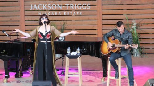 Jackson Triggs Winery(with Elise LeGrow)