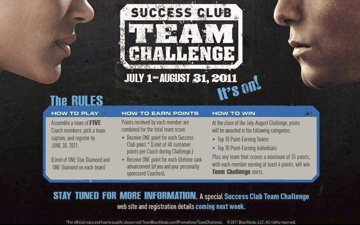 Success Club Team Challenge