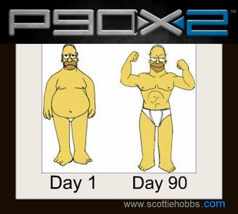 Real P90X2 Ripped Results