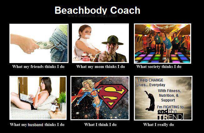 Beachbody Coach- What I think I do!