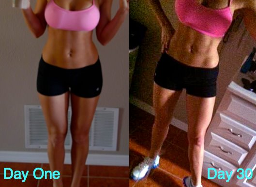 Lindsay Matway – New Chalene Extreme Post Pregnancy Results