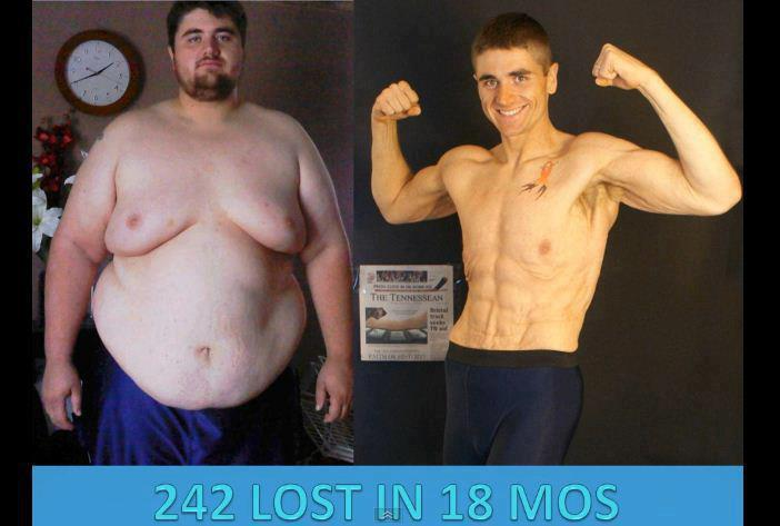 242 lbs – Obese to a Ripped Body in 18 Months