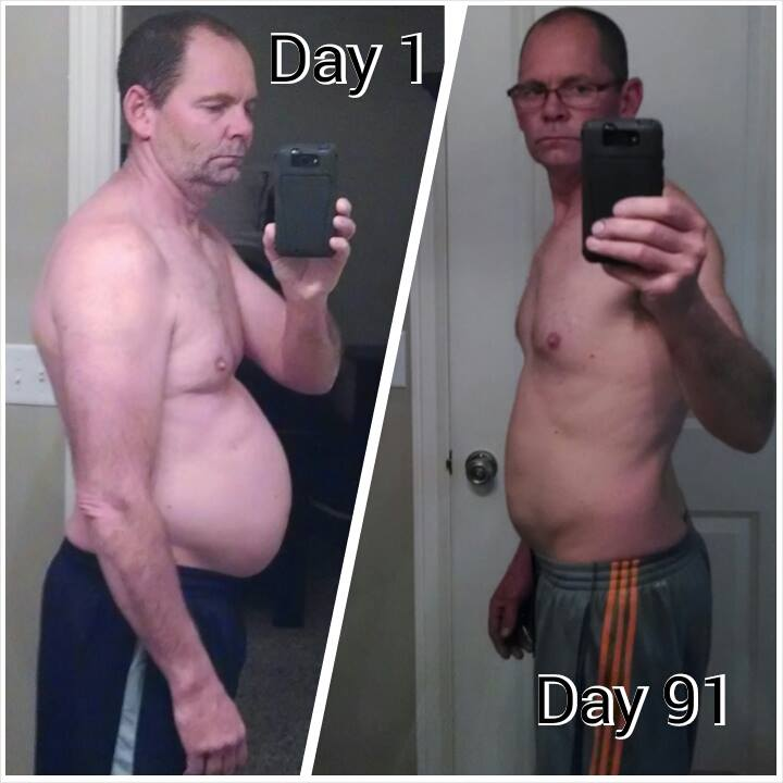 P90X3 Result Pictures