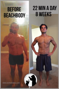 22 minute hard corps, beachbody results pictures, military workout, home bootcamp workout