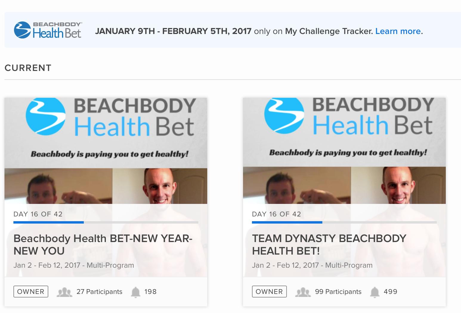 Beachbody Challenge Groups