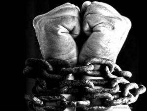 satan, devil influence, chains of sin, chains of addiction