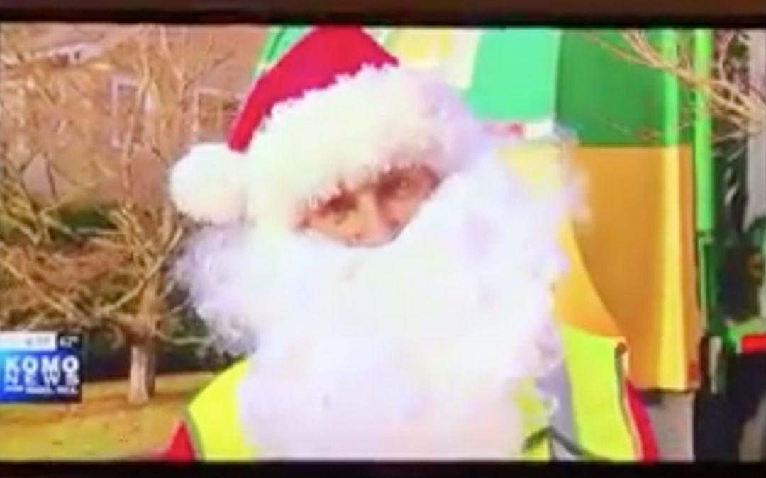 Garbage Truck Santa