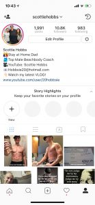 scottie hobbs instagram, instagram scottie hobbs