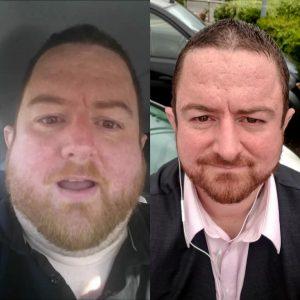 fat and sick, sick and fat, uk beachbody coach, beachbody coach uk, lost 160 lbs , team 2coins