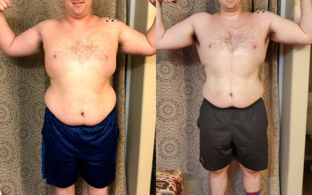 Make healthier choices, male transformations, tate cox, scottie hobbs, men beachbody, male beachbody coaches