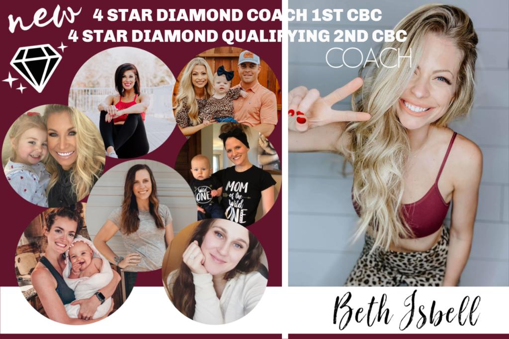 Beachbody Top 10 Coaches 2020, beth isbell, dynasty strong, dream dynasty