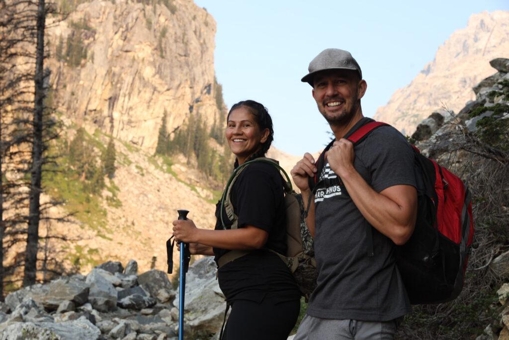 Climb the Middle Teton