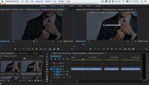 Adobe Premiere Editing