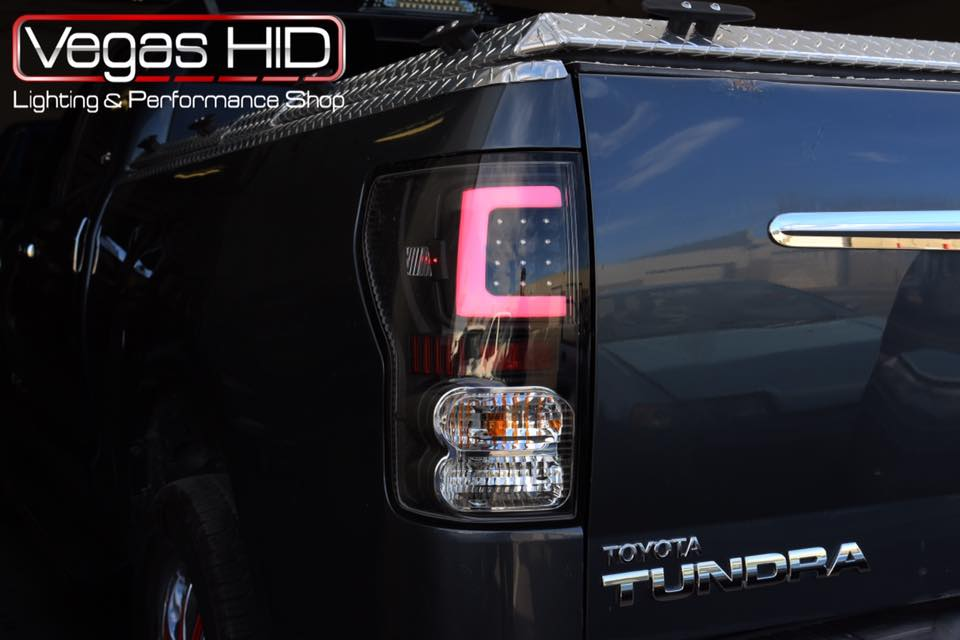 Toyota Tundra With Performance Taillights