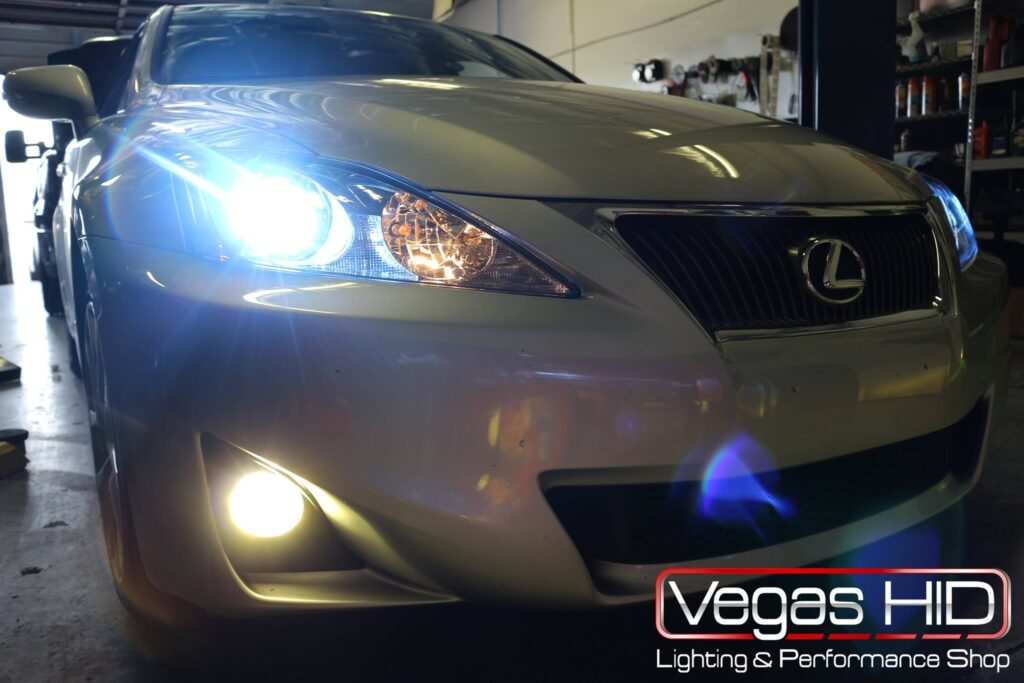 Lexus With Performance Headlights