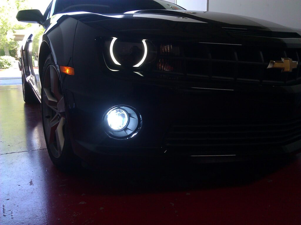 Halo Lights on a Chevy