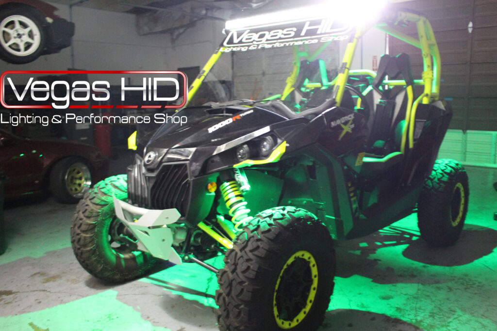 Underglow Lights on a Dune Buggy