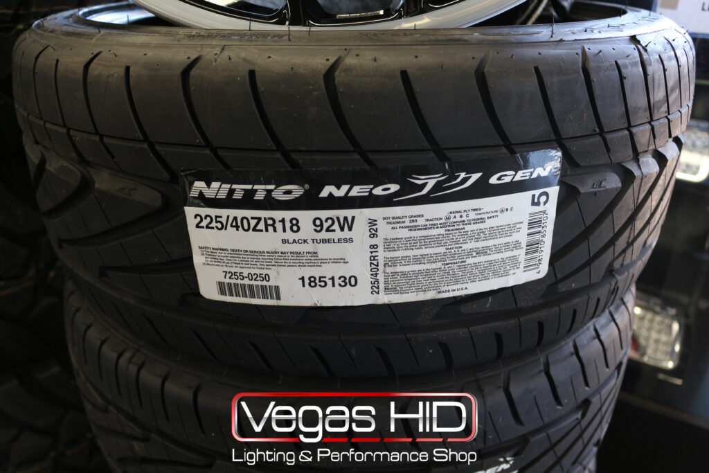 New Performance Tires