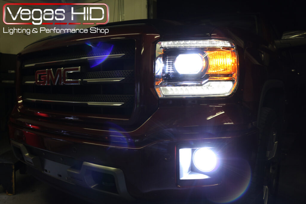 GMC Truck Headlight Install