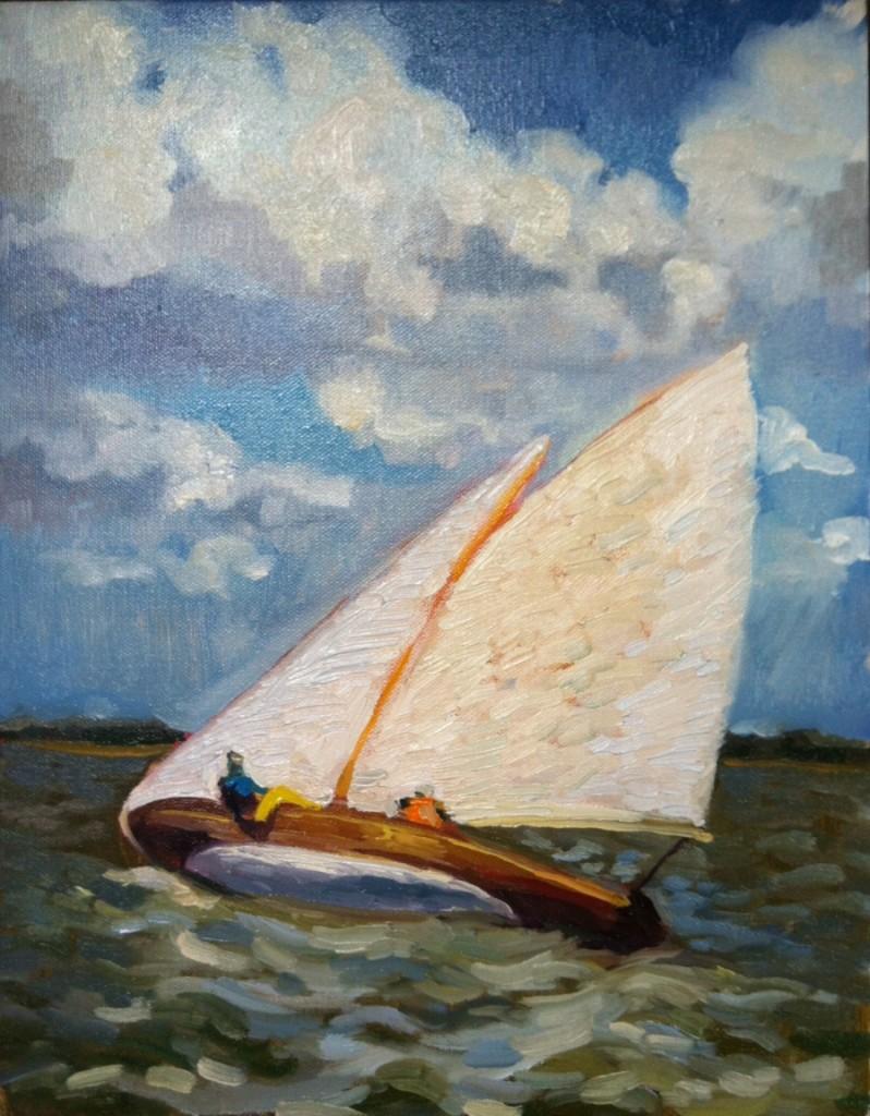 Painting by Jodi Burton
