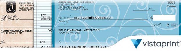 checks vistaprint coupons