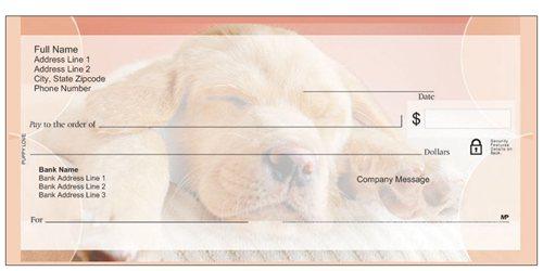 dog checks vistaprint